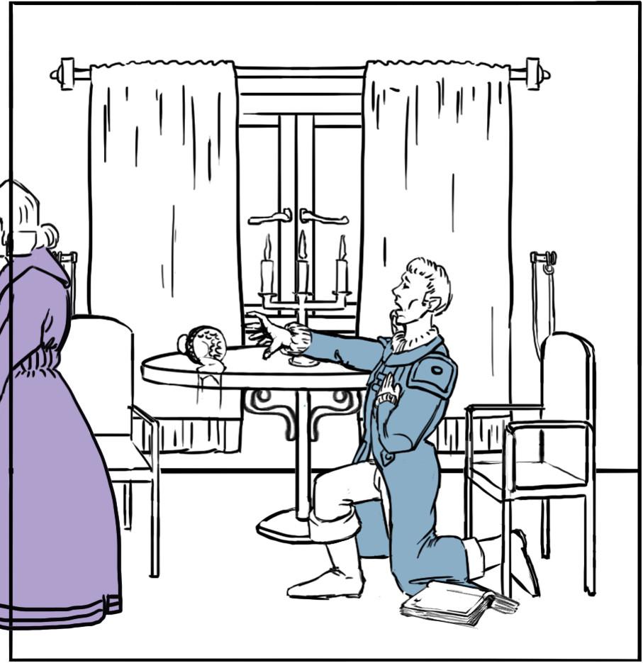 Lotte und Werther trennen sich