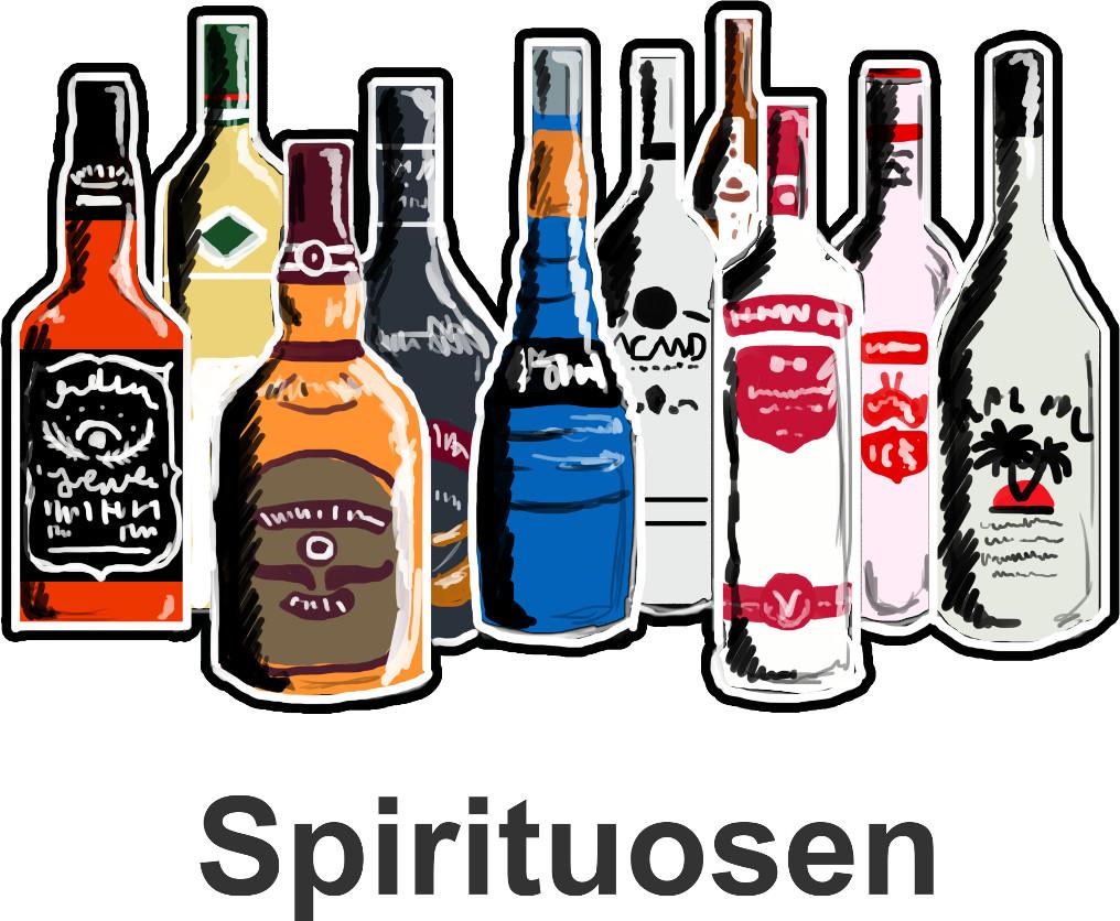 Alkohole: Spirituosen