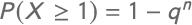 Formel Bernoulli-Experiment