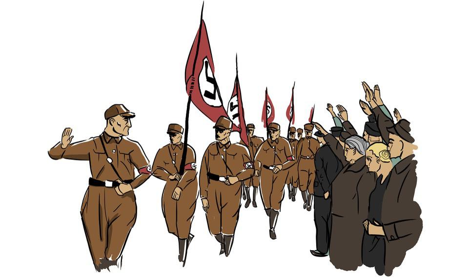 Vorkriegszeit (1933-1939): NSDAP Aufmarsch