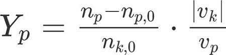 Berechnung zu Konzentration: Formel Ausbeute