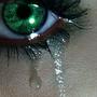Traenen von liebesschmerz