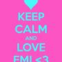 Keep calm and love emi 3 4