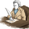 Schiller schreibt
