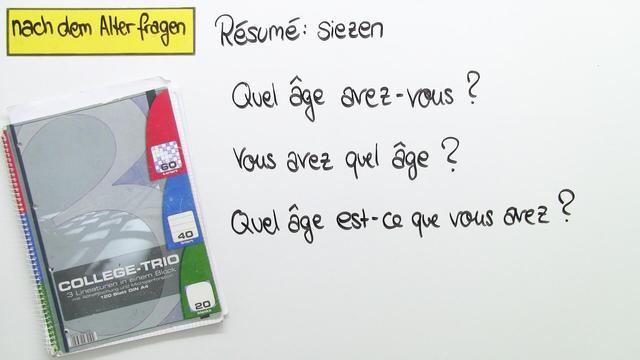 Kennenlernen fragen französisch