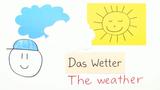 Weather – Erste Vokabeln zum Wetter