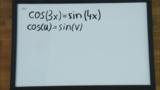 Gleichungen mit Sinus, Cosinus und Tangens – Aufgabe 13