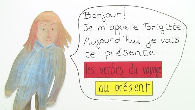 Unterwegs in Frankreich – les verbes du voyage au Présent