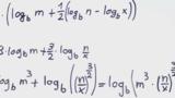 Logarithmusgesetze – Übung (7)