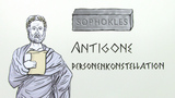 Sophokles: Antigone - Personenkonstellation