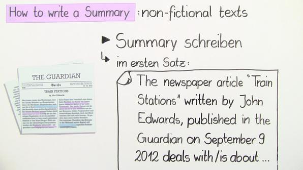 12461 summary writing
