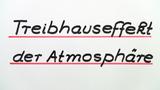 Treibhauseffekt der Atmosphäre
