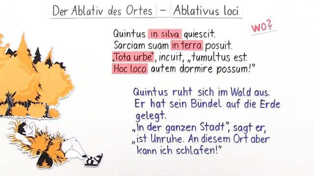 Ablativus loci – Ablativ des Ortes