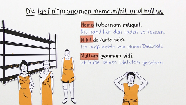 nemo, nihil und nullus