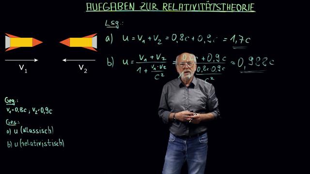 Relativitätstheorie (Übungsvideo)