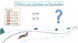 Dezimalbrüche – Addieren und Subtrahieren