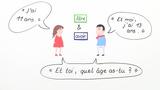 """Unregelmäßige Verben """"être"""" und """"avoir"""" konjugieren"""
