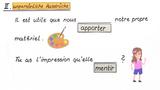 Subjonctif-Auslöser – Verben und unpersönliche Ausdrücke (Übungsvideo)