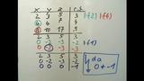 Gauß-Verfahren – Beispiel mit drei Unbekannten