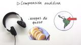 Rezept auf Spanisch - Hörverständnisvideo
