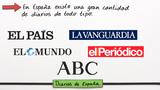 Die spanische Medienlandschaft: Tageszeitungen