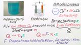 Berechnung von Metallmassen bei der Elektrolyse