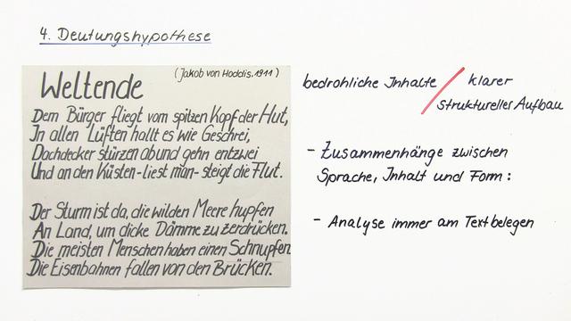 Die Küchenuhr Interpretation Einleitung ~ eine gedichtinterpretation schreiben u2013 einfach erklärt