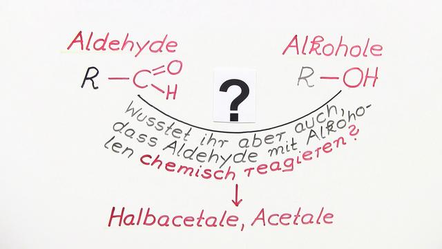 Halbacetal- und Acetalbildung
