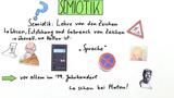 Semiotik – Lehre von den Zeichen