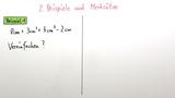 Termumformungen mit mehreren Variablen
