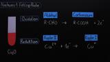 Aldehydnachweise – Fehling Probe und Tollens Probe