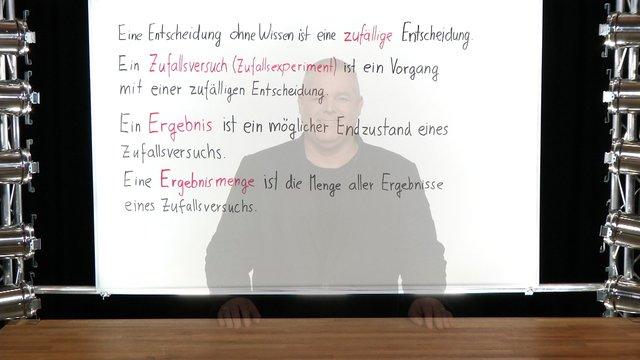 Zufallsexperimente – Beispiele