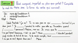 Gebrauch der Zeiten – Vergleich: Passé Composé, Imparfait und Plus-Que-Parfait (Übungsvideo)