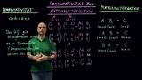 Matrizen – Nachweis der Nichtgültigkeit des Kommutativgesetzes