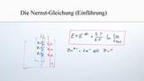 Nernst-Gleichung