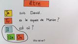 """Konjugation der Verben """"être"""" und """"avoir"""""""