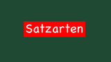 Satzarten
