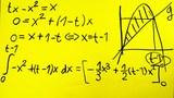 Bestimmtes Integral – Funktion mit gegebener Integraleigenschaft