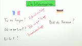 """Entscheidungsfragen – Intonationsfragen und """"Est-ce que""""-Frage"""