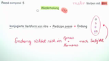 """Passé Composé – Verben mit """"être"""" (2)"""
