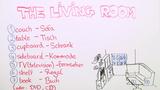 Living Room – Vokabeln zum Wohnzimmer