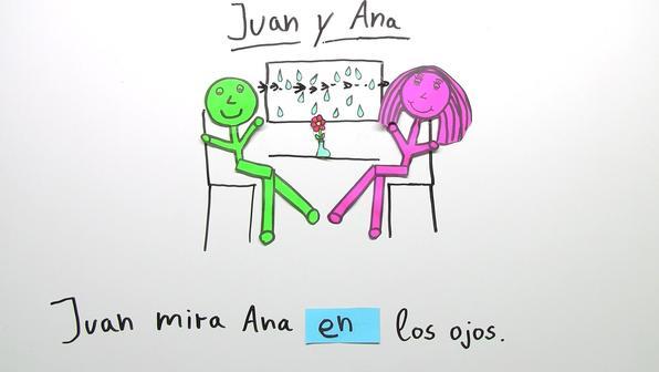Juan  y  ana  praepositionen bild
