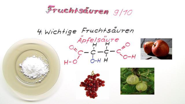 Fruchtsäuren (Basiswissen)