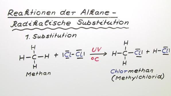 Vorschaubild 370 m92 reaktionen der alkane radikalische substitution
