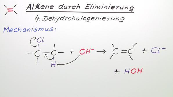 376 alkene durch eliminierung