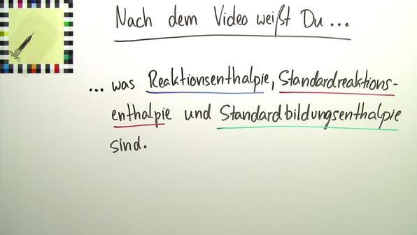 Vorschaubild reaktions  standardreaktions  und standardbildungsenthalpien