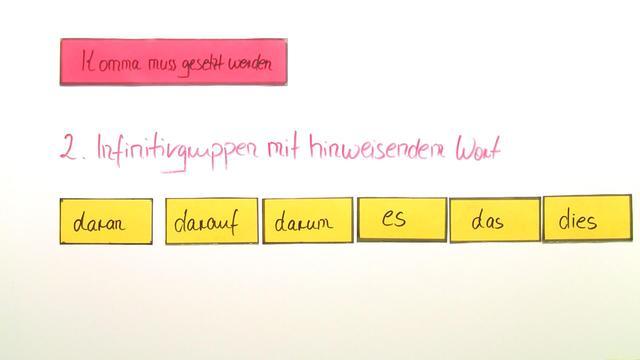 Kommasetzung bei Infinitivgruppen u2013 Einfach erklu00e4rt (inkl ...