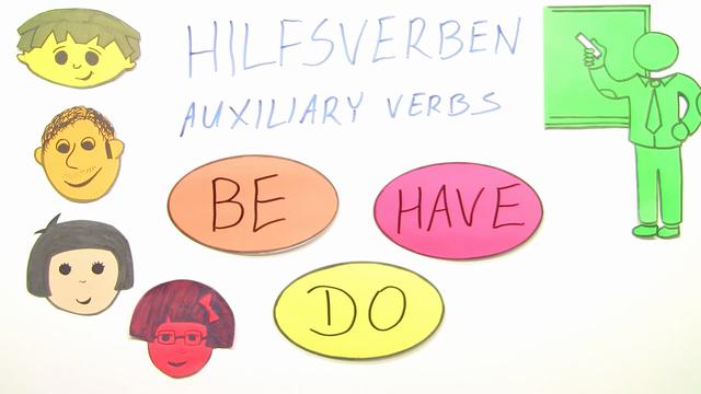 Hilfsverben: be, have, do