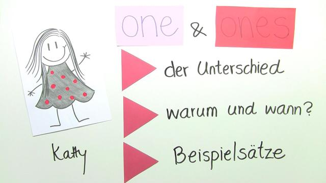 Indefinite Pronouns – one and ones