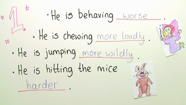 Adverbs – Steigerung (Übungsvideo)